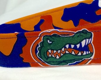 Florida Gators Dog Collar Orange Blue UF University of Florida