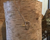"""Sterling Silver """"Love Knot"""" Necklace"""