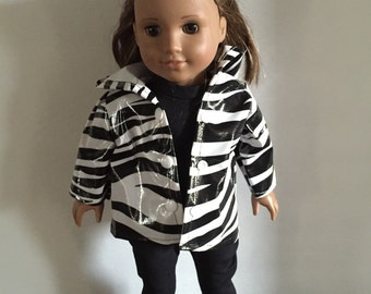 18 Inch Doll Clothes Wild about Rain