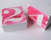 Valentines Day Decor - Art Blocks - Valentine Decoration - Valentine Decor - Together Forever - Love - Wedding - Valentines Day