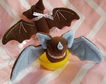 Chocolate Easter Batties - Plush Easter Bats