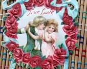 True Love:  Victorian Valentine Die Cut Ephemera