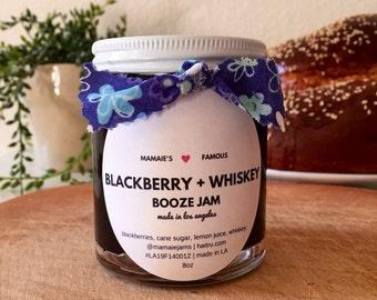 Blackberry + Whiskey Jam