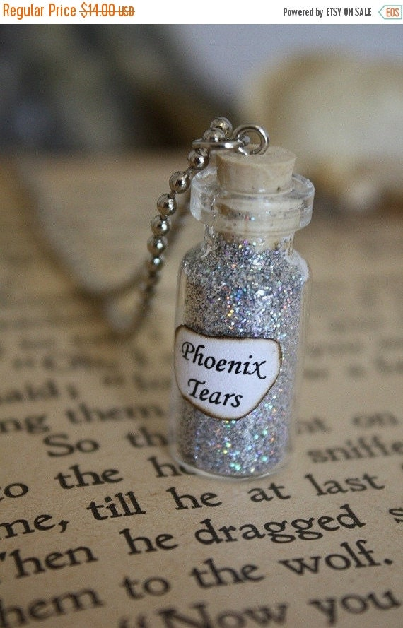 ON SALE Phoenix Tears - Vial Necklace