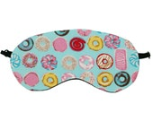 Turquoise Sweet Treats Sleeping Mask, Donut, Biscuits