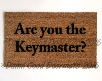 Are you the Keymaster? Ghostbusters  doormat
