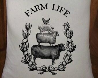 Feed Sack, Flour Sack Bag, Prim Decor, Farm Sack, Country Decor, Muslin Bag, Vintage Feed Sack, Cotton Sack, Farm Life, Livestock Stack