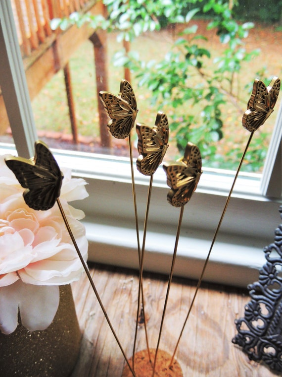 Tall Wire Table Number Holder Gold Place Card Holders Wedding