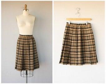 Vintage 1950s Skirt | 50s Skirt | Vintage 1950s Wool Skirt | Vintage 50s Skirt | Pleated Skirt | Mr. Mort Skirt