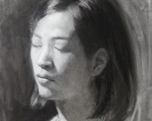 Charcoal drawing - original  (FD 87)
