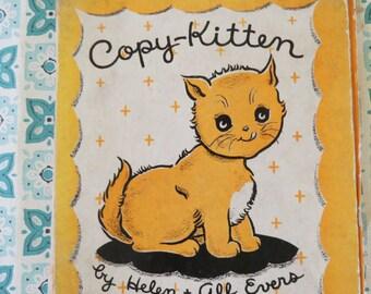 Vintage 1937 Copy Kitten book CUTE