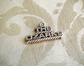 Vintage Sterling the Ozarks Missouri Travel Charm