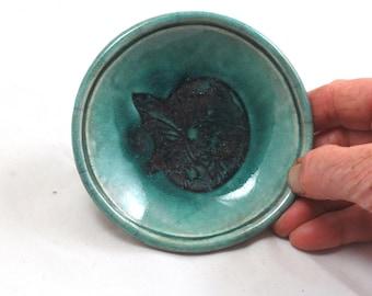 Handmade Ceramic Butterfly Fairy Bowl