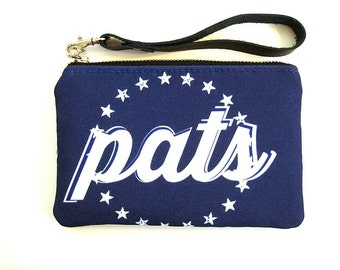 New England Football Stadium Wristlet NFL Regulation Bag Cheeseheads