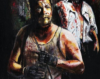The Walking Dead Abraham Ford Limited Edition Art Print