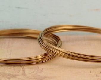 Square Jewelers Brass Wire - 14, 16, 18, 20 gauge - 100% Guarantee