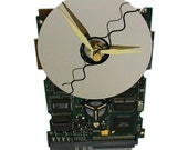 FREE SHIPPING! The Mercedes of Circuit Board Clocks, Modernistic, Retro, Preppie Look.