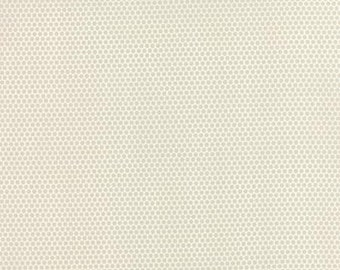 Small honeycomb on grey...by Bonnie and Camille..Moda Fabrics..  55134-15