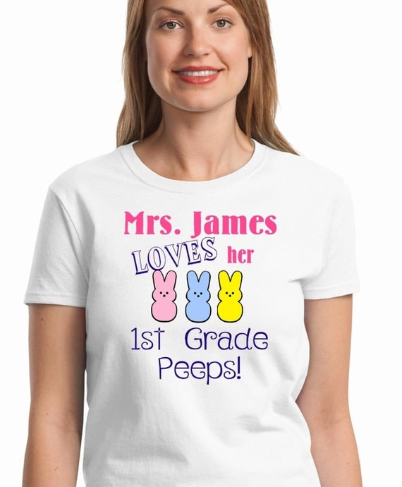 Easter T Shirt Personalized Teacher Shirt Easter By