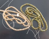 Two Cultured Pearl Strands