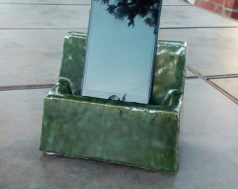 Mobile device stand.