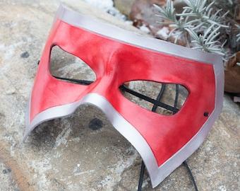 Leather Masquerade Mask