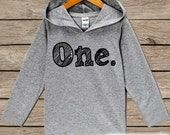 First Birthday Outfit - Kids Hoodie - Birthday Pullover - 1st Birthday Shirt - Boy's or Girl's Hoodie - First Birthday Top - Birthday Hoodie