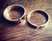 Gold Filled Open Band Ring