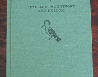 A Field Guide To The Birds Of Britian And Europe Peterson Vintage Nature