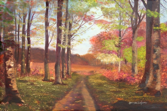 Kentucky Trails, Morehead, Fine Art Print on Canvas or Paper