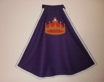 Royalty Cape Costume King's Cape Costume Queen's Cape Costume