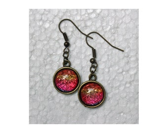 Mimsy Antique Bronze Dangle Earrings