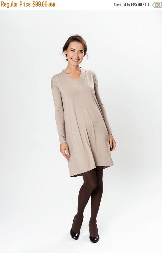SALE - Creamy LePassion viscose longsleeved dress
