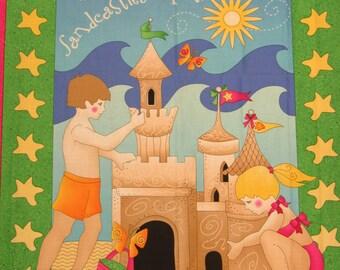 Sandcastles on the Seashore-Beach Quilt Kit-Sandcastles Quilt Kit-Fun Colors & Design!