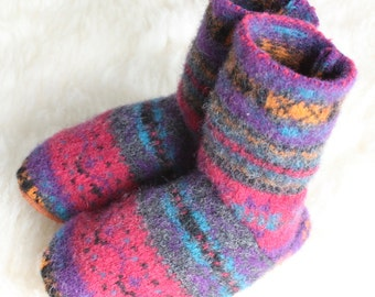 Wool Toddler Slippers: Large 11-13