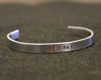 Get Bent - Angsty Aluminum - Cuff Bracelet