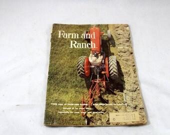 Vintage Farm and Ranch Magazine. April 1960s. Mid Century Farming. Vintage Farm Periodical. Vintage Farming. American Farmer. Tractors
