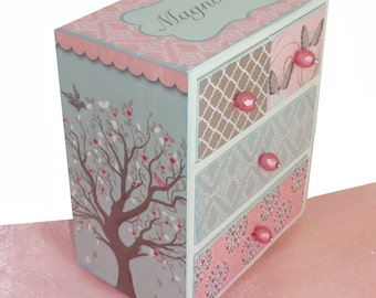 Girls Jewelry Box Personalized Mystical Enchantment