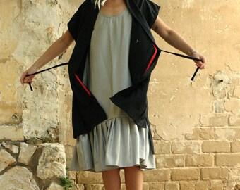 black kimono top - short sleeve cardigan sweater - womens kimono cardigan - kimono robe - wrap cardigan - womens cardigan - SSKimSweatRobe