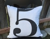 Customize Comfy Cozy Casual Pillow Cover (number)