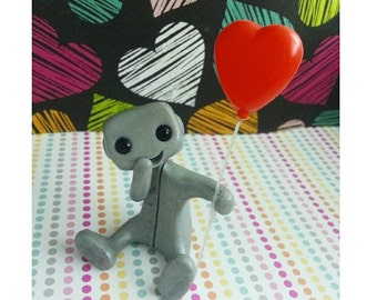 Carried Away By Love Robot (red)
