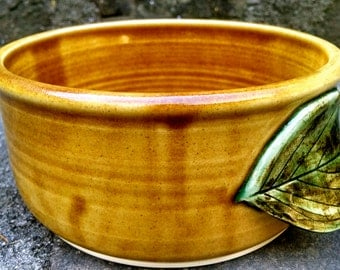 Bread Baker, Bread Crock, Pottery Bread Baker, Casserole Dish, Mountain Harvest Glaze, Made To Order