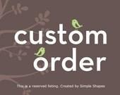 Custom Listing for k3ra111
