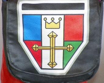 Lion Crest Satchel Made to Order