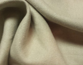 Natural taupe beige WASHED HEAVY woven LINEN upholstery fabric, 11-76-02-0214