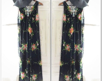 70'S retro summer dress, Bohemian hippie chic summer sundress, woodstock style long maxi dress, modern hippie love, True rebel clothing