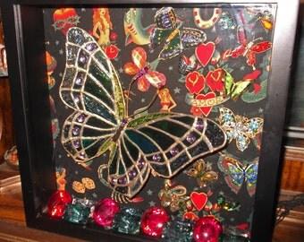 Flight of the Butterflies Shadow Box