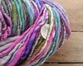 One Last Garden Party singles squishy handspun yarn