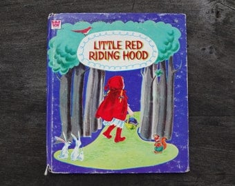 Vintage Whitman Little Red Riding Hood Storybook