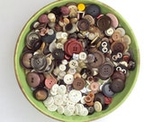 Button Lot, 650+, Plastic Buttons, Destash, Supply, Craft, 1/2 pound